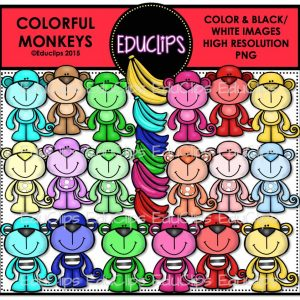Colorful Monkeys