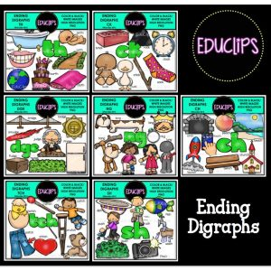 Ending Digraphs mega Bundle
