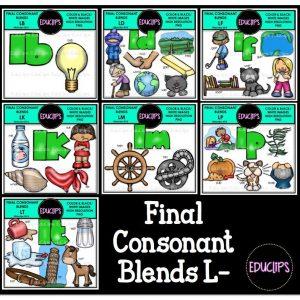 Final Consonant Blends L-