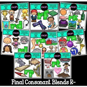 Final Consonant Blends R-