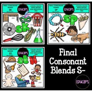 Final Consonant Blends S-.