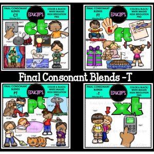 Final Consonant Blends -T.