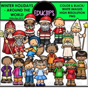 Winter Holidays - Around The World