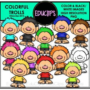 Colorful Trolls