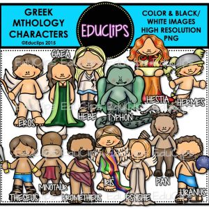 Greek Mythology Characters