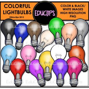 *Colorful Lightbulbs