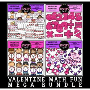 Valentine Math Fun Mega Bundle