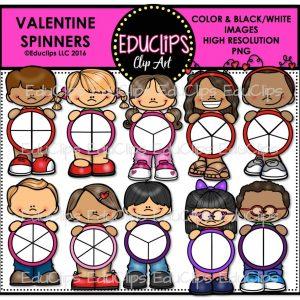 Valentine Spinners