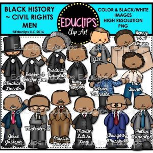 Black History Civil Rights Men