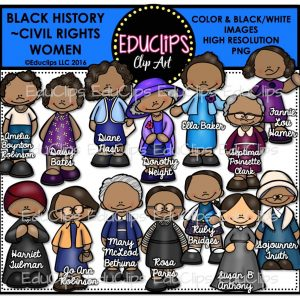 Black History Civil Rights Women