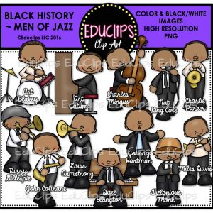 Black History Men of Jazz