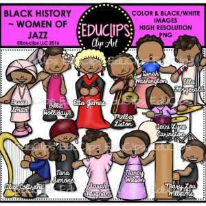 Black History Women Of Jazz