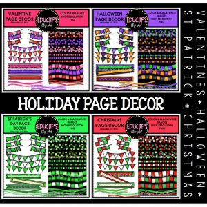 Holiday Page Decor
