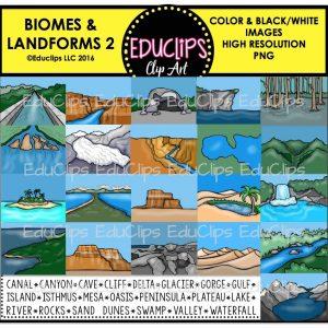 Biomes & Landforms 2