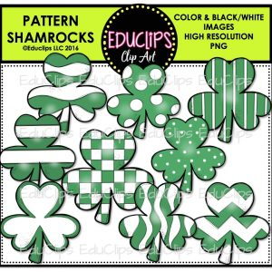 Pattern Shamrocks