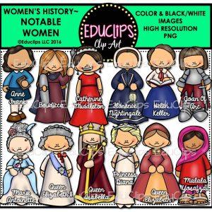 Women's History~Notable Women