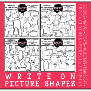 Write On PIcture Shapes