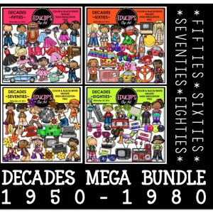 Decades Mega BUndle 1950-1980