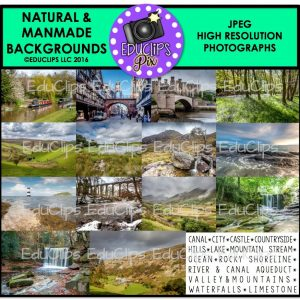 Natural & Manmade Backgrounds