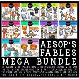 Aesop's Fables Mega Bundle