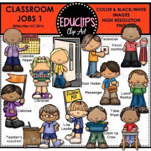 Classroom Jobs 1