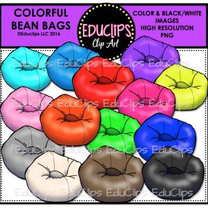 Colorful Bean Bags