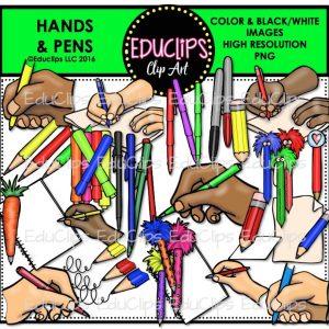 Hands & Pens