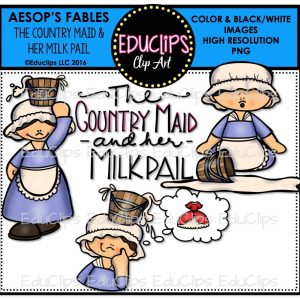 The Country Maid & Her Milk Pail