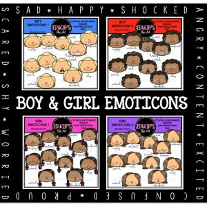 Boy&Girl Emoticons