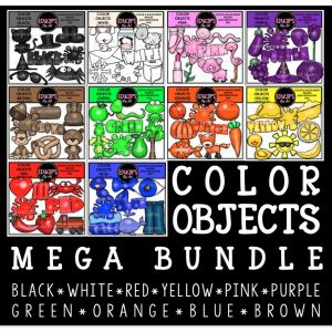 Color objects mega bundle