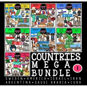 Countries Mega Bundle 1