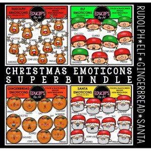 christmas-emoticons-super-bundle