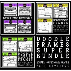 doodle-frames-super-bundle