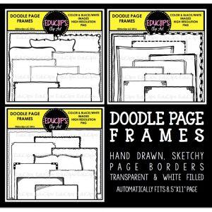 doodle-page-frames