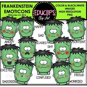 frankenstein-emoticons