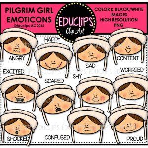 pilgrim-girl-emoticons