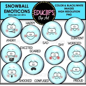 snowball-emoticons