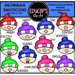 snowman-emoticons