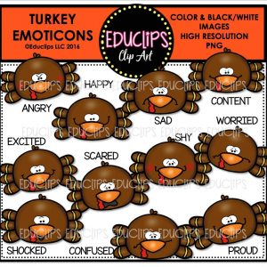 turkey-emoticons