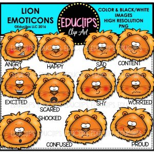 lion-emoticons