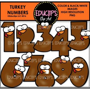 turkey-numbers