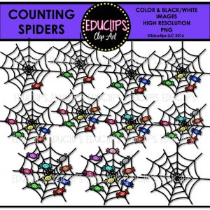 counting-spiders