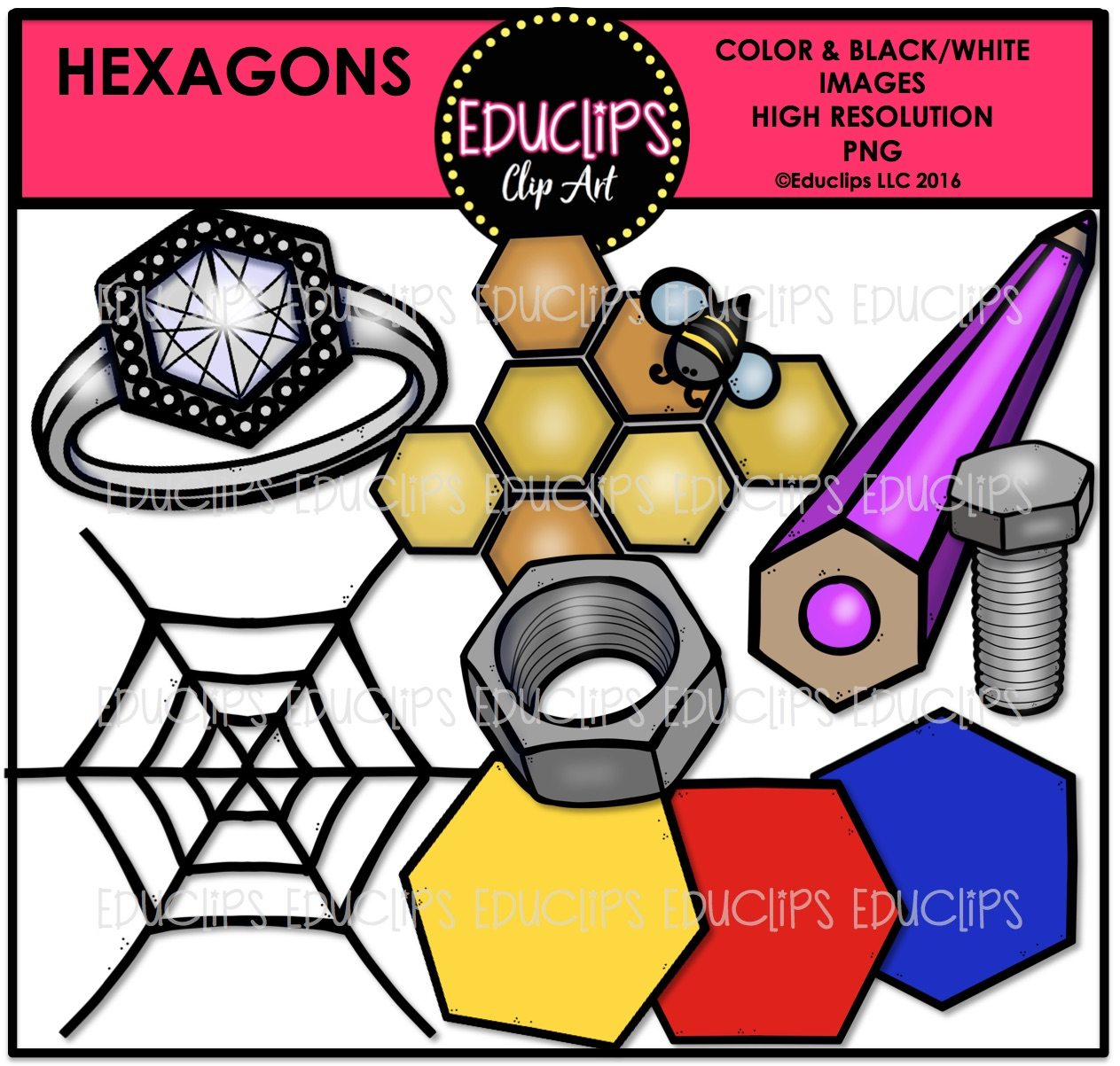 Hexagons In The Real World 2D Real World S...