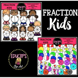 Fractions Kids Bundle