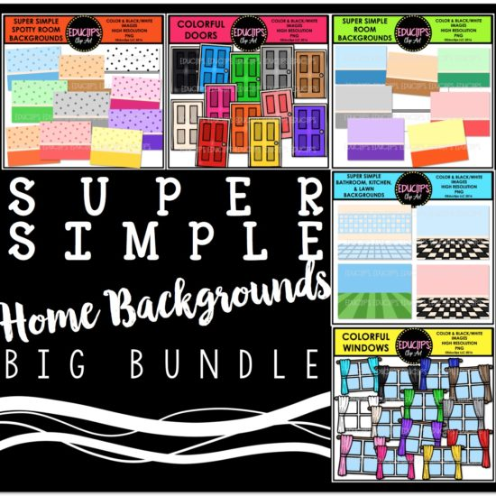 Super Simple Home Backgrounds