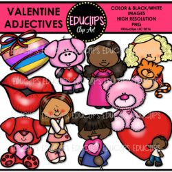 valentine-adjectives