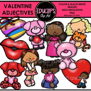 valentine-adjectives