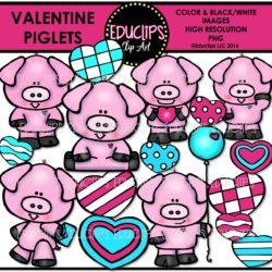 Valentine Piglets