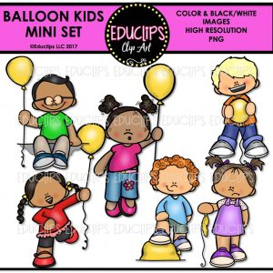 Balloon Kids Mini Set