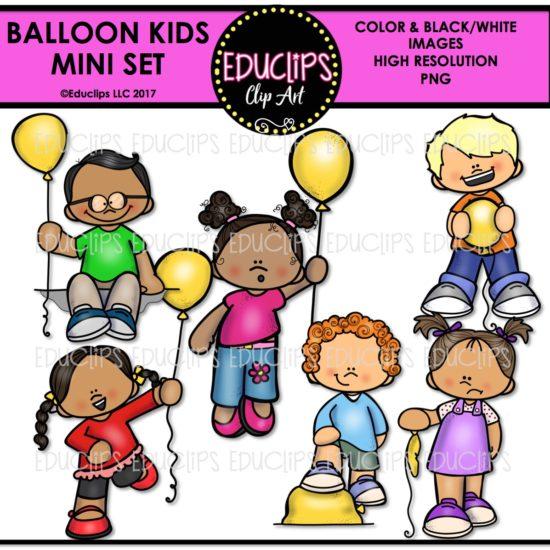 Balloon Kids Mini Set